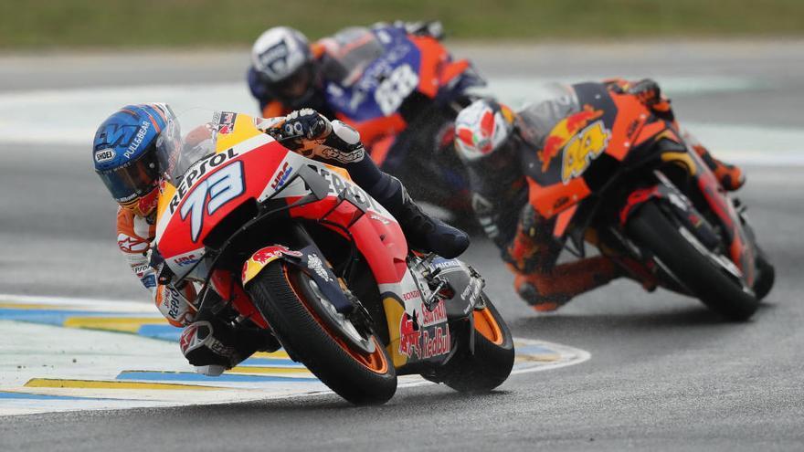 Petrucci vence en Le Mans y Álex Márquez firma su primer podio