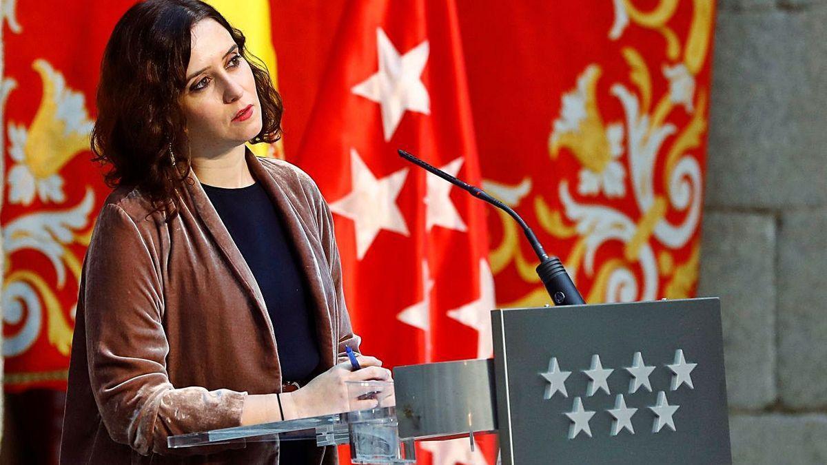 Ayuso critica el repartiment dels fons COVID per a la Comunitat Valenciana.
