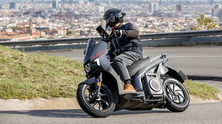 Seat Mó eScooter 125, 100% eléctrico