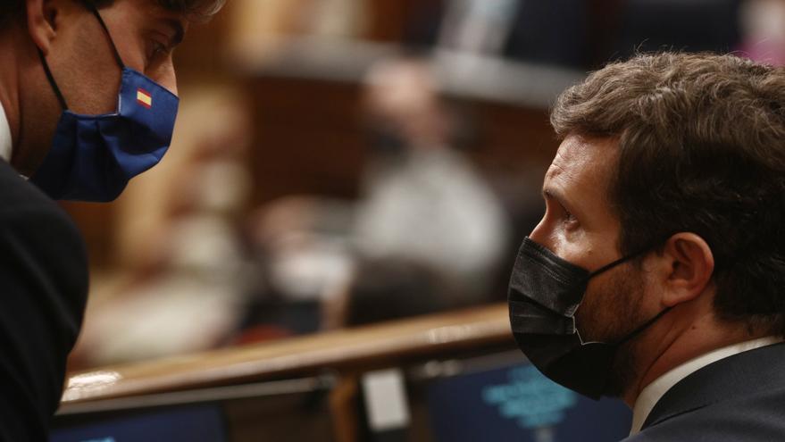 La derecha refuerza su ofensiva parlamentaria contra los indultos de Sánchez