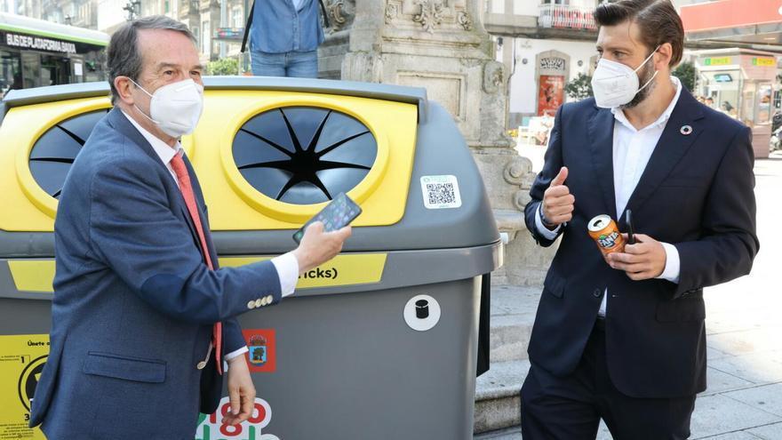 Los vigueses recibirán premios por reciclar