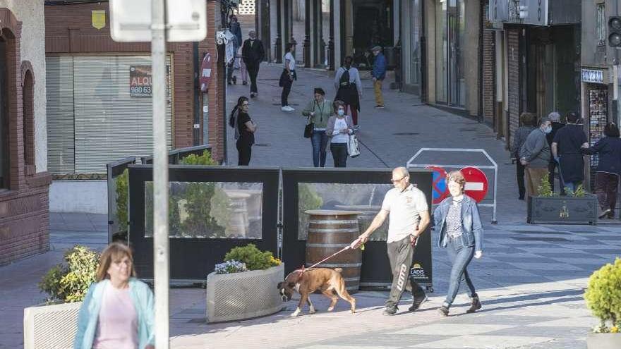 La peatonalización del centro de Benavente se amplía a Juan Carlos I desde las ocho de la tarde