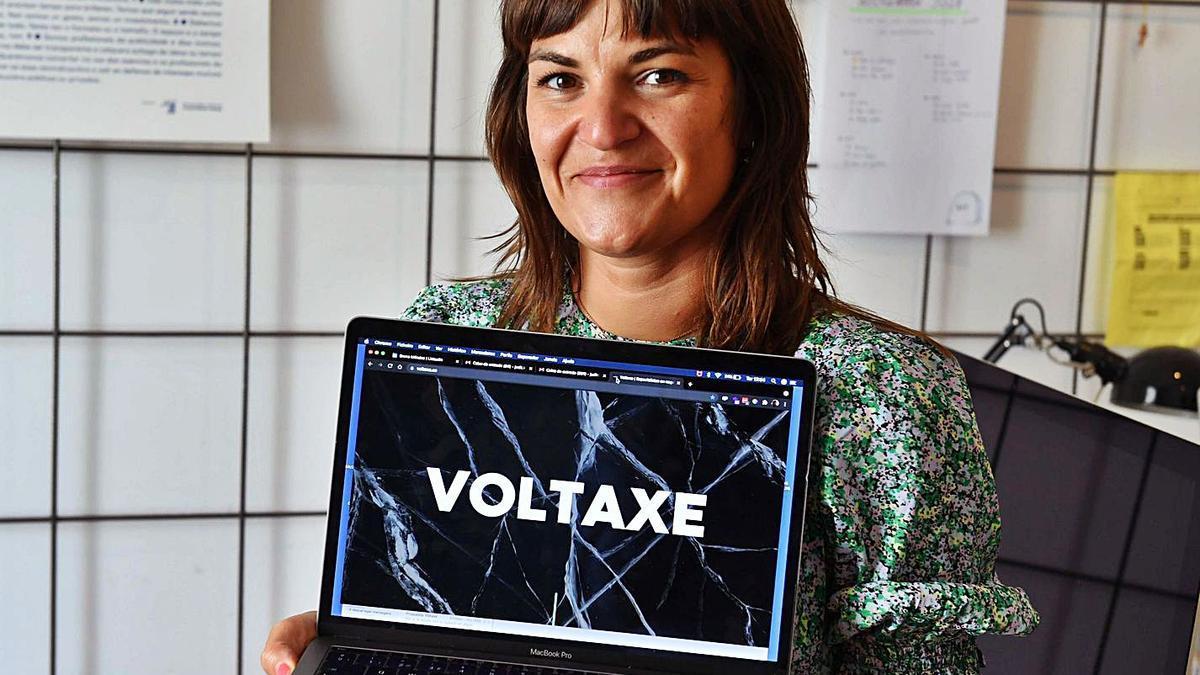 Judit Cabana, directora de Voltaxe.    // VÍCTOR ECHAVE