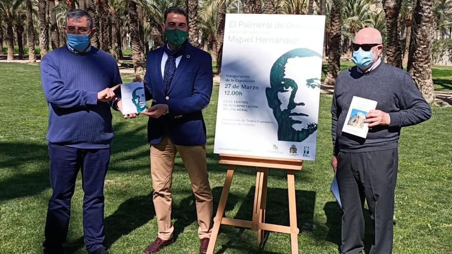 Una exposición mostrará la relación de Miguel Hernández con El Palmeral