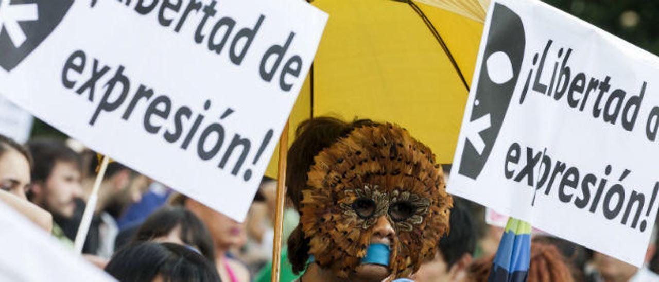 Interior recauda diez millones de euros en Alicante por la Ley Mordaza