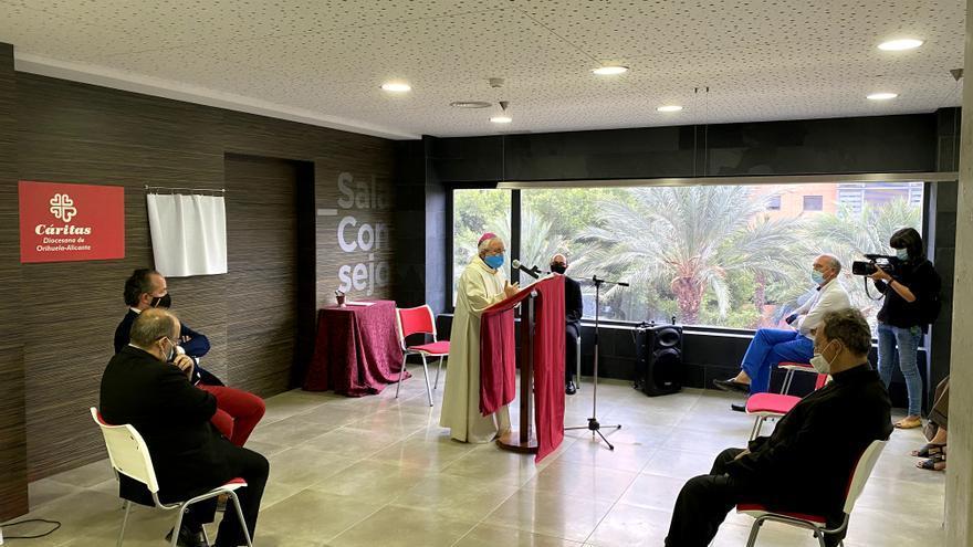 Cáritas Diocesana estrena nueva sede en Alicante