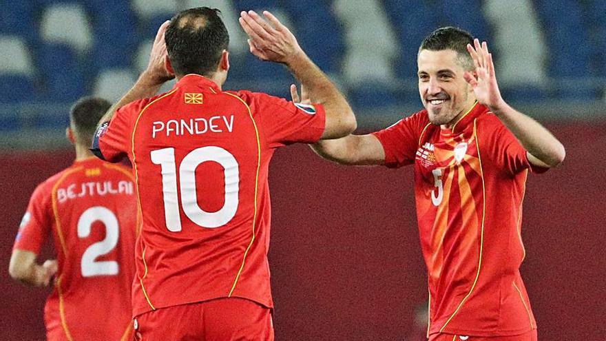 Macedonia y Hungría, a la Eurocopa