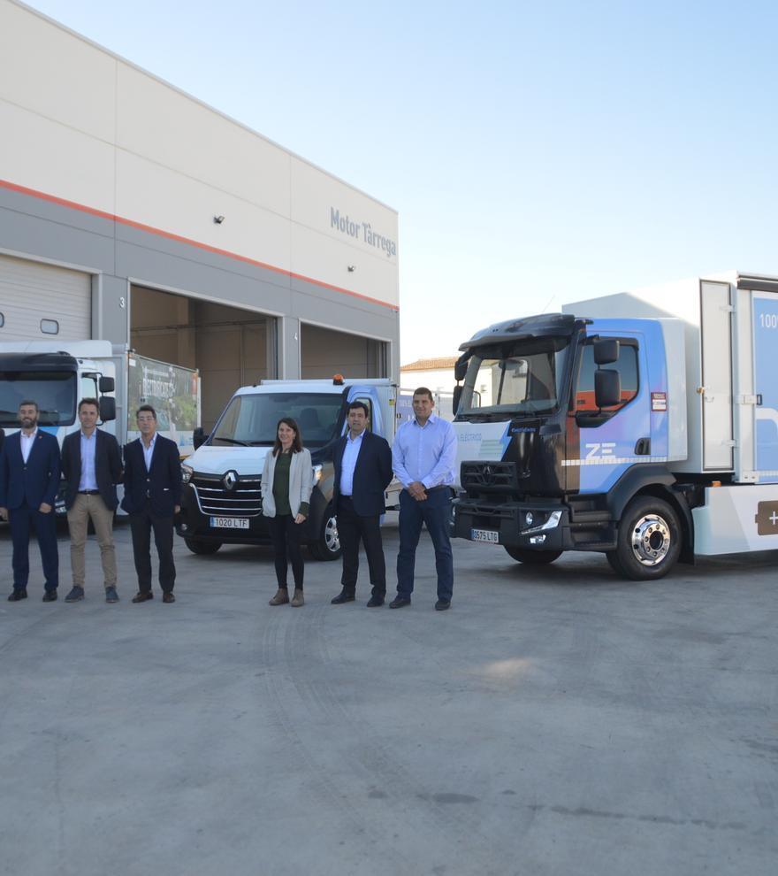 Motor Tàrrega presenta  els nous camions 100% elèctrics de Renault Trucks