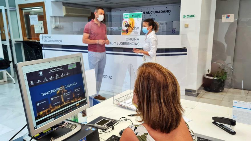 La Universidad de Barcelona otorga al Ayuntamiento de Caravaca el sello 'Infoparticipa'