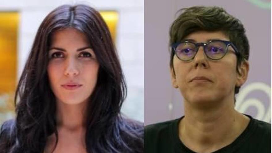 Pilar Lima aparta a Naiara Davó en las Cortes y desata otra tormenta en Podemos