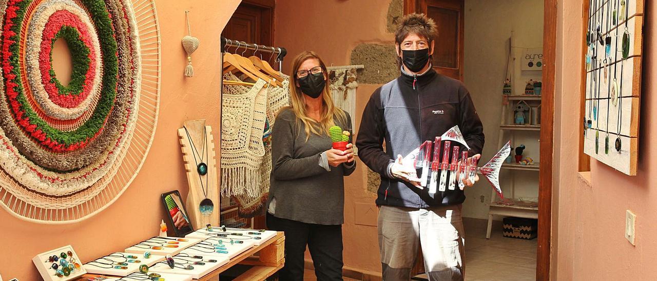 Artesanía argentina con sede en Agüimes