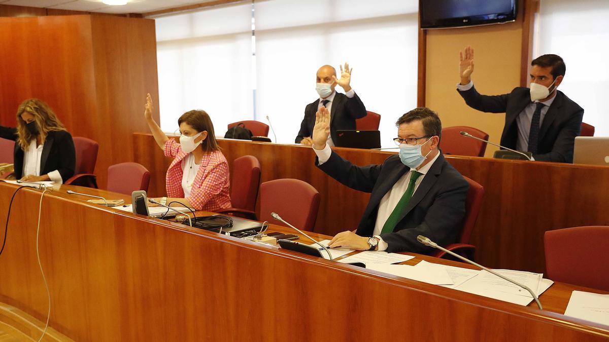 Pleno del Concello de Vigo del 15 de septiembre de 2021.