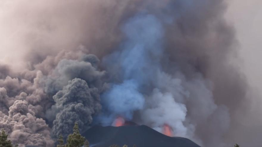 Así suenan las explosiones del volcán de La Palma