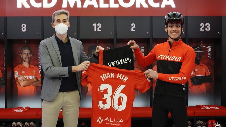El Mallorca y Joan Mir estrechan lazos