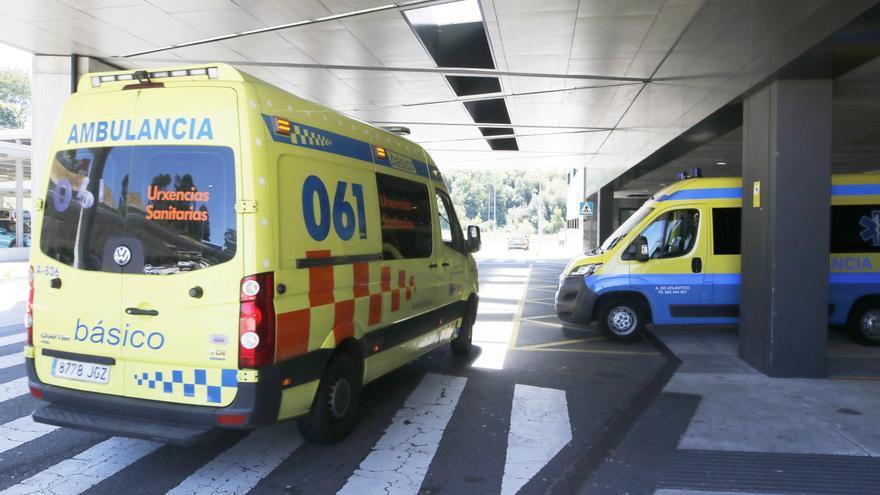 Evacuada al Cunqueiro una menor por una intoxicación etílica en Vigo