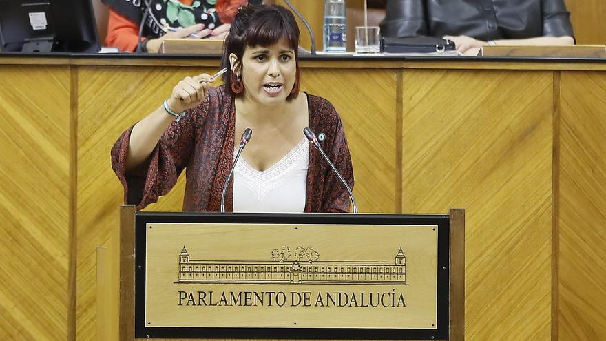 El Constitucional admite el recurso de Teresa Rodríguez contra el Parlamento andaluz
