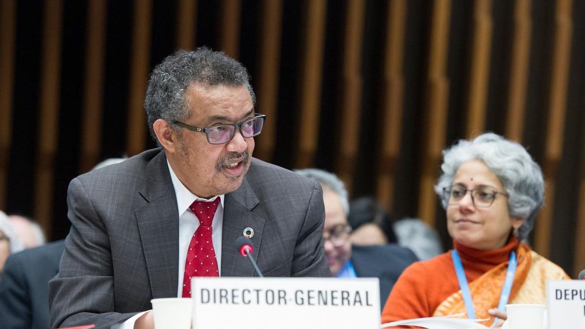 El director general de l'Organització Mundial de la Salut, Tedros Adhanom Ghebreyesus