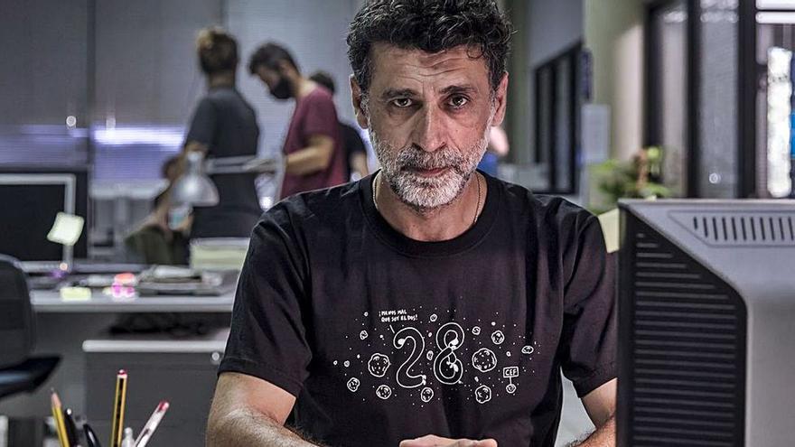 """Nacho Fresneda: """"Hay un sector de la sociedad que trata de denigrar el cine español"""""""