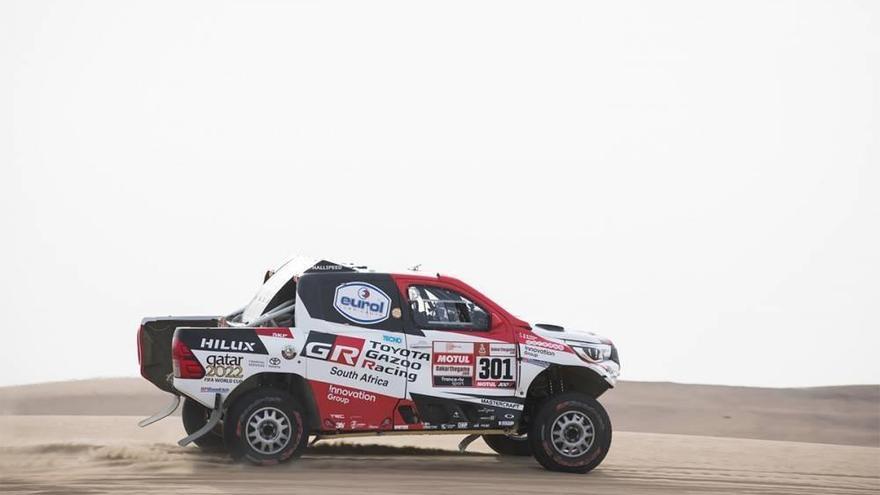 Al-Attiyah gana la penúltima etapa y sentencia el Dakar