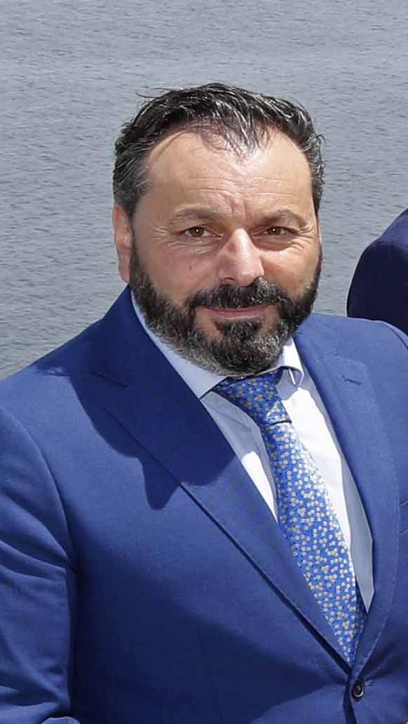 El alcalde, Paco Ferreira. // Pablo Hernández