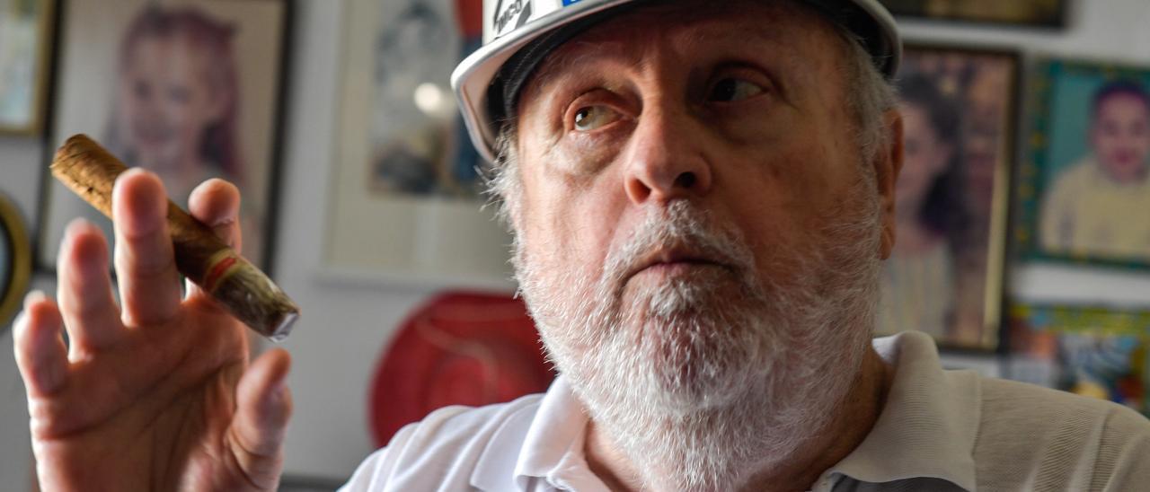 José Vázquez, el Fidel Castro del Carnaval de Las Palmas de Gran Canaria