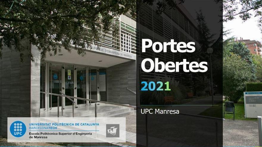 Més de 250 inscrits en les primeres portes obertes virtuals a la UPC Manresa