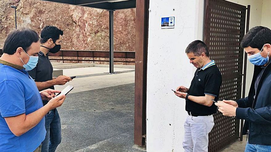 Finestrat crea tres zonas de wifi gratis con fondos europeos