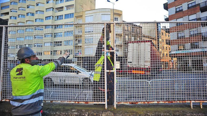 Una plaza en O Ramal, última integración puerto-ciudad en la etapa de Franco Malvar