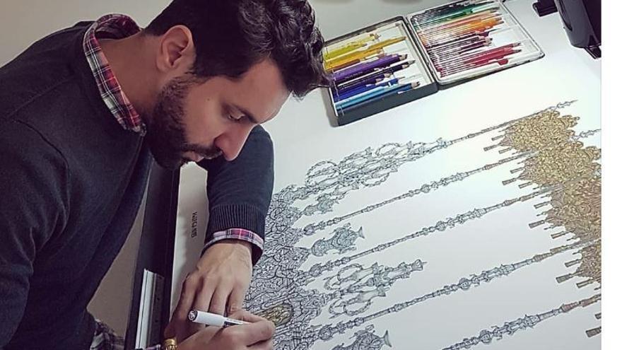 El artista malagueño Curro Claros diseñará el nuevo palio de Nuestra Señora de las Lágrimas de Alicante