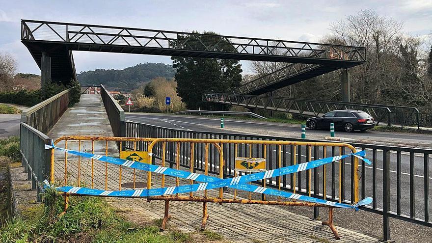 """El Concello suma """"5 avisos sin respuesta"""" de la Xunta sobre la pasarela de A Rúa"""