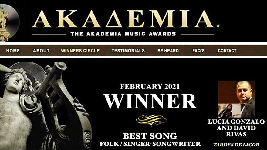 """Los """"Akademia Awards"""" reconocen con dos premios el talento de David Rivas"""