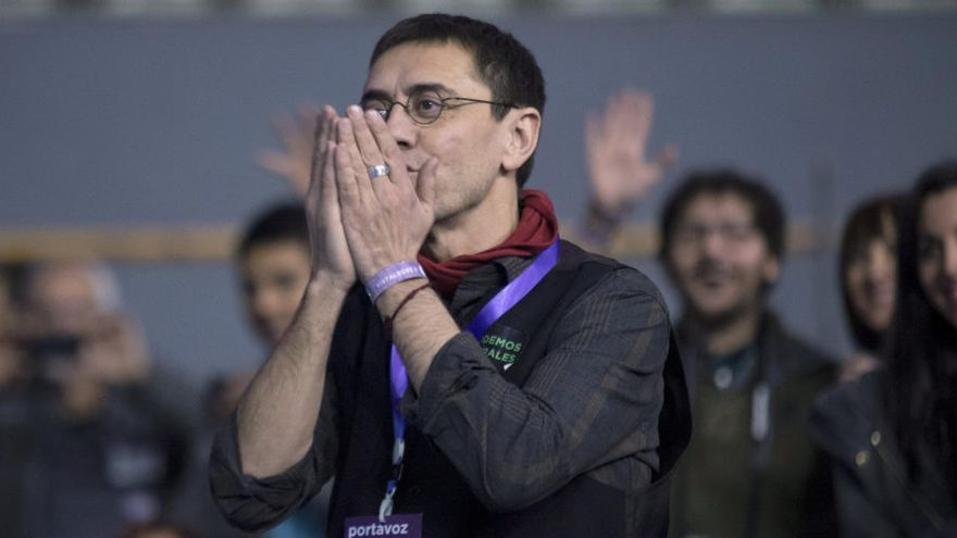 Monedero, dispuesto a presentarse a la alcaldía de Madrid con Podemos