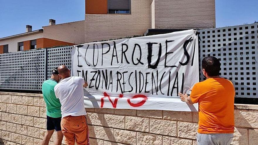 Los vecinos contra el ecoparque de Sant Joan exigen el proyecto