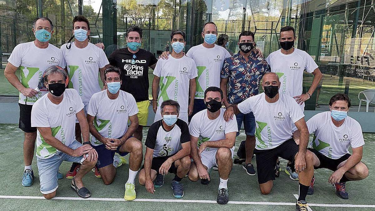 Pins Padel Club, campeones de Mallorca por equipos