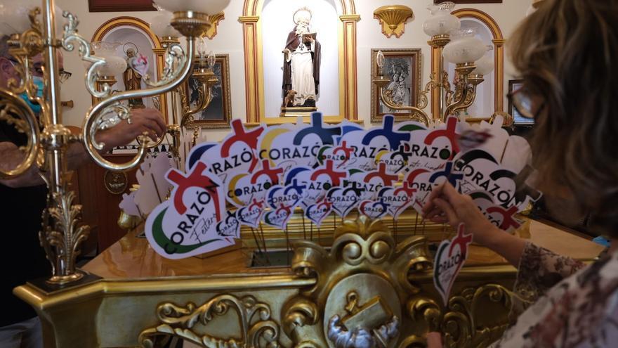Una misa de «esperanza» para recordar las fiestas de Elda y honrar a San Antón