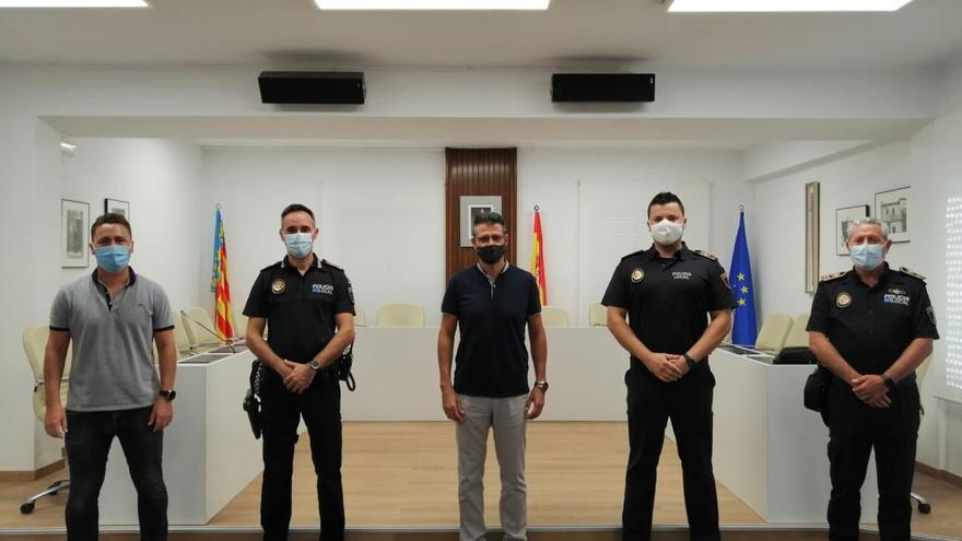 La Policía Local de Almussafes nombra a dos nuevos oficiales
