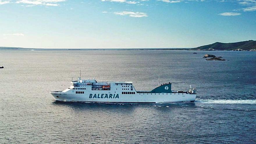 Baleària incorpora un nuevo buque