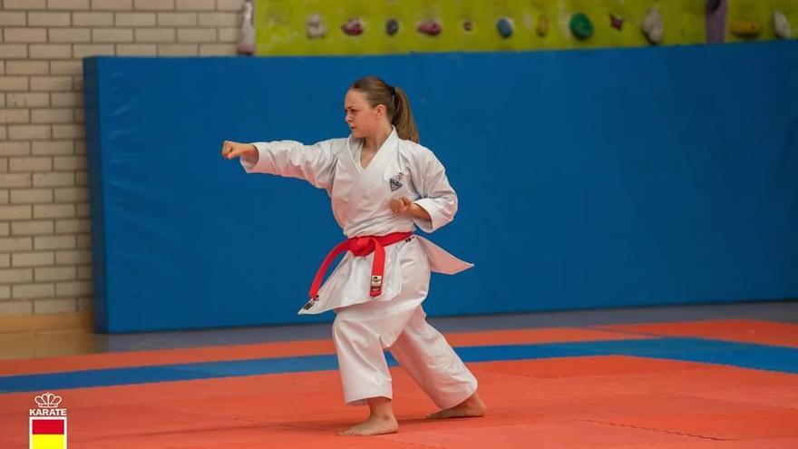 Alba Martín, la karateca emergente 3.0