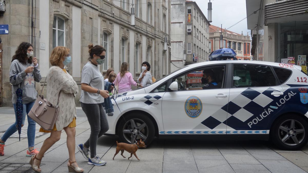 Una patrulla de la Policía Local