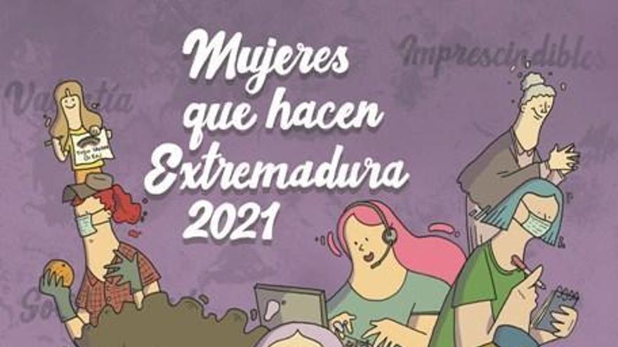 Mujeres que hacen Extremadura: un homenaje a las luchadoras