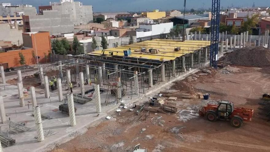 En marcha la cesión de las obras de un colegio de Almassora