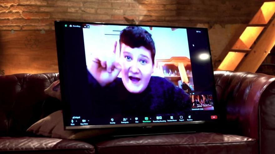El youtuber Miquel Montoro, a «Jugada mestra», el programa multiplataforma de TV3