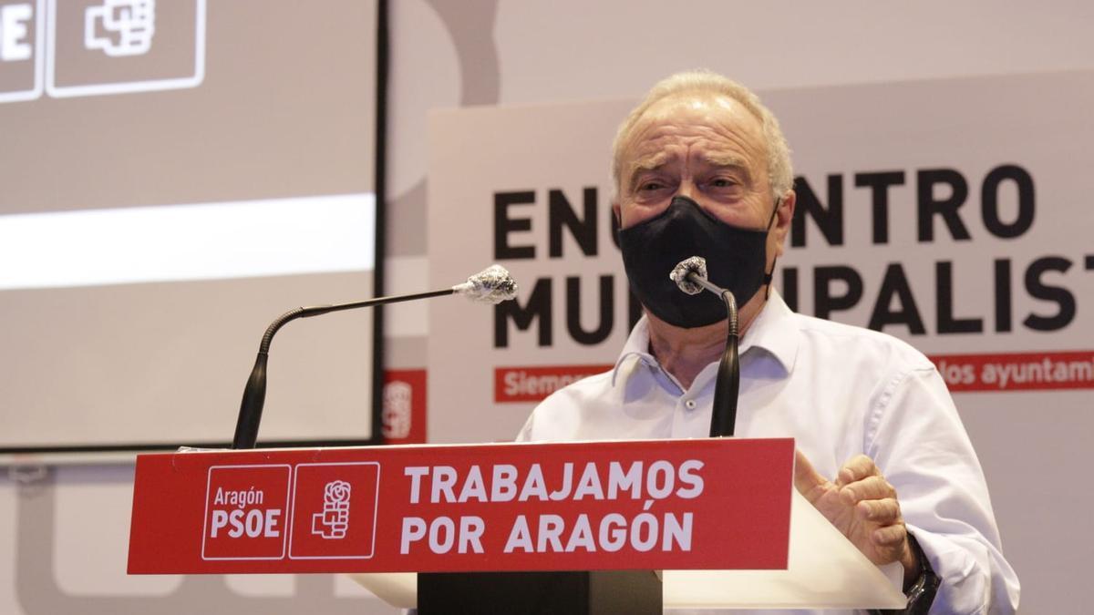 Miguel Gracia, presidente de la DPH y uno de los cargos destacados del PSOE del Alto Aragón.