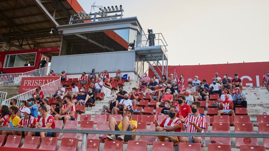 La millor entrada de la temporada tot i el fort xafec a l'inici: 3.500 espectadors