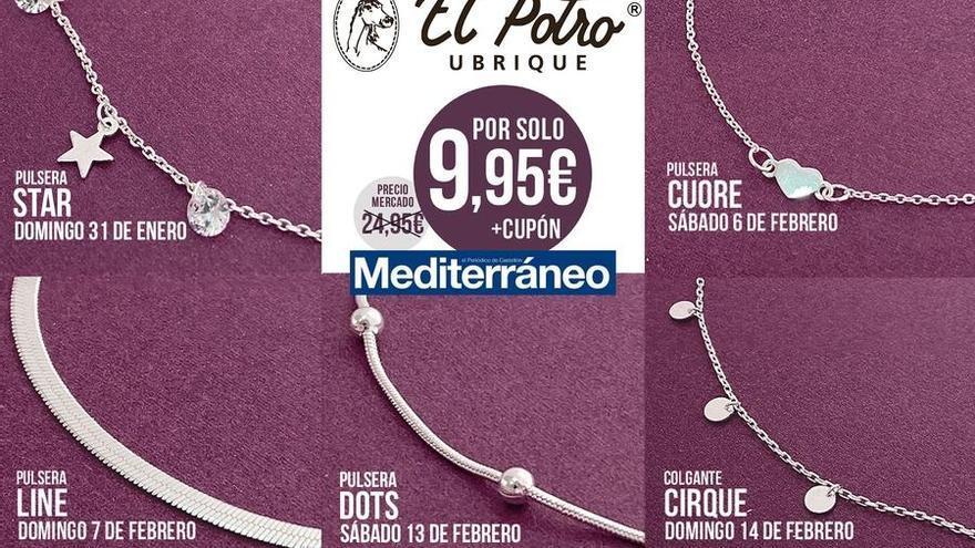 Consigue con 'Mediterráneo' una colección de joyas de plata de primera ley