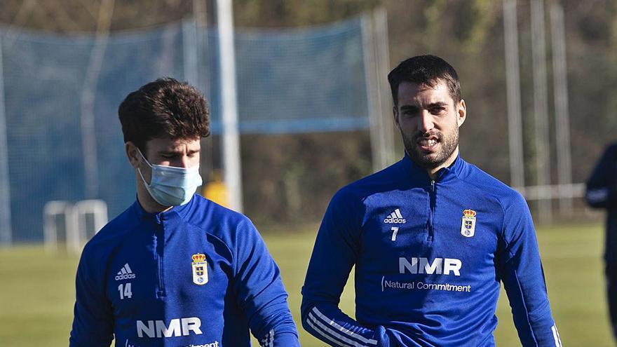 Jimmy y Diegui, vitaminas para el Oviedo en la recta final de la temporada