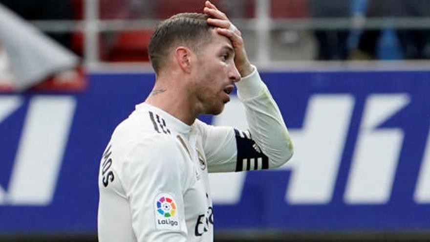 Mourinho piensa en Ramos para la Roma