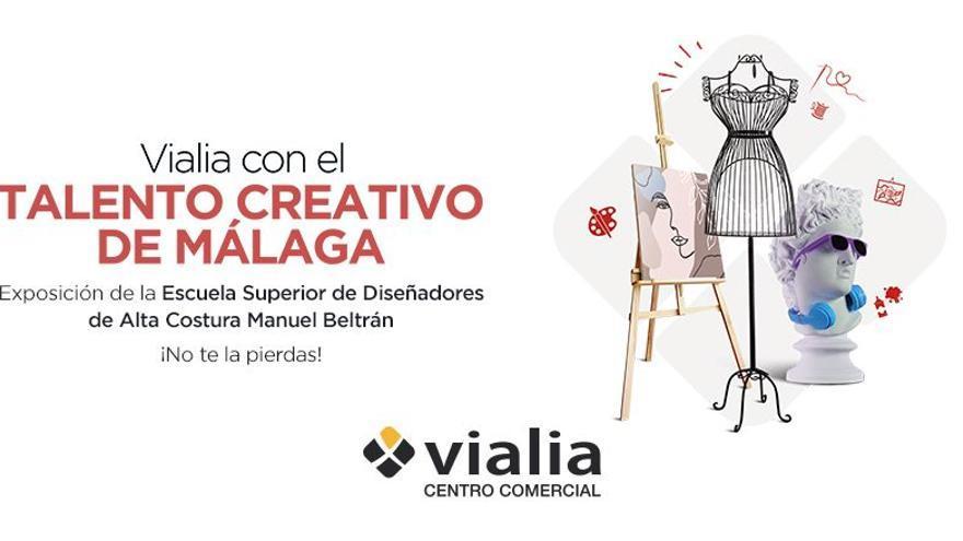 Vialia acoge una exposición de la escuela de diseño Manuel Beltrán