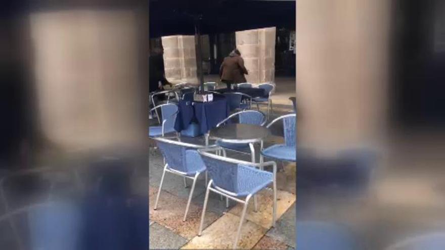 En libertad el ultra del Betis que agredió a un hombre en Bilbao