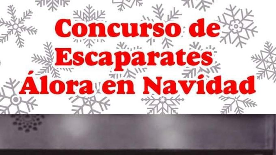 Concurso de Escaparates: Álora en Navidad